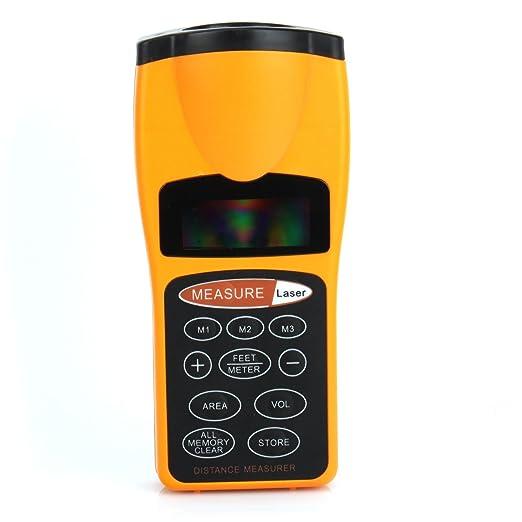 38 opinioni per Misuratore di distanza con puntatore laser distanziometro metro