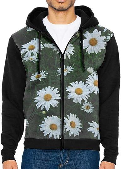 Shenghong Lin Sugar Skull Flowers Funny Mens Black Hoodie Sweatshirt Sportswear Jackets With Hoodies
