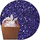 Glitter My World! Craft Glitter: 25lb Box: Violet Bliss
