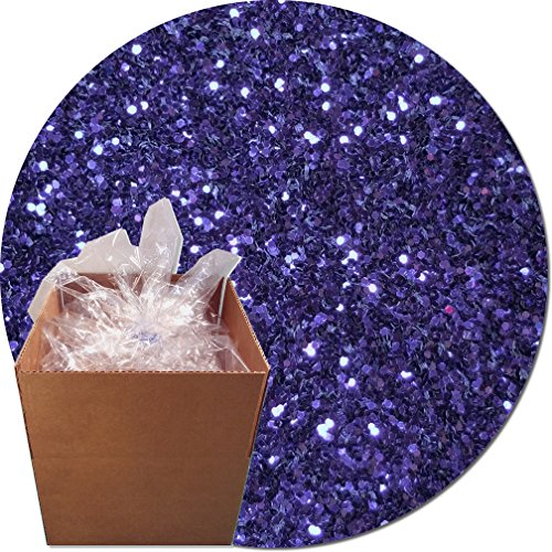 Glitter My World! Craft Glitter: 25lb Box: Violet Bliss by Glitter My World!