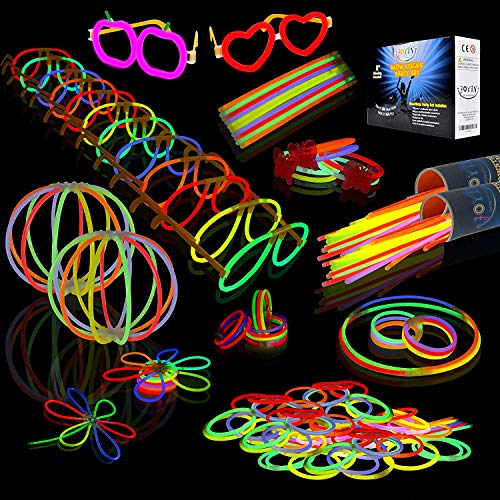 Halloween Theme Party Music (JOYIN Glow Sticks Bulk 200 8