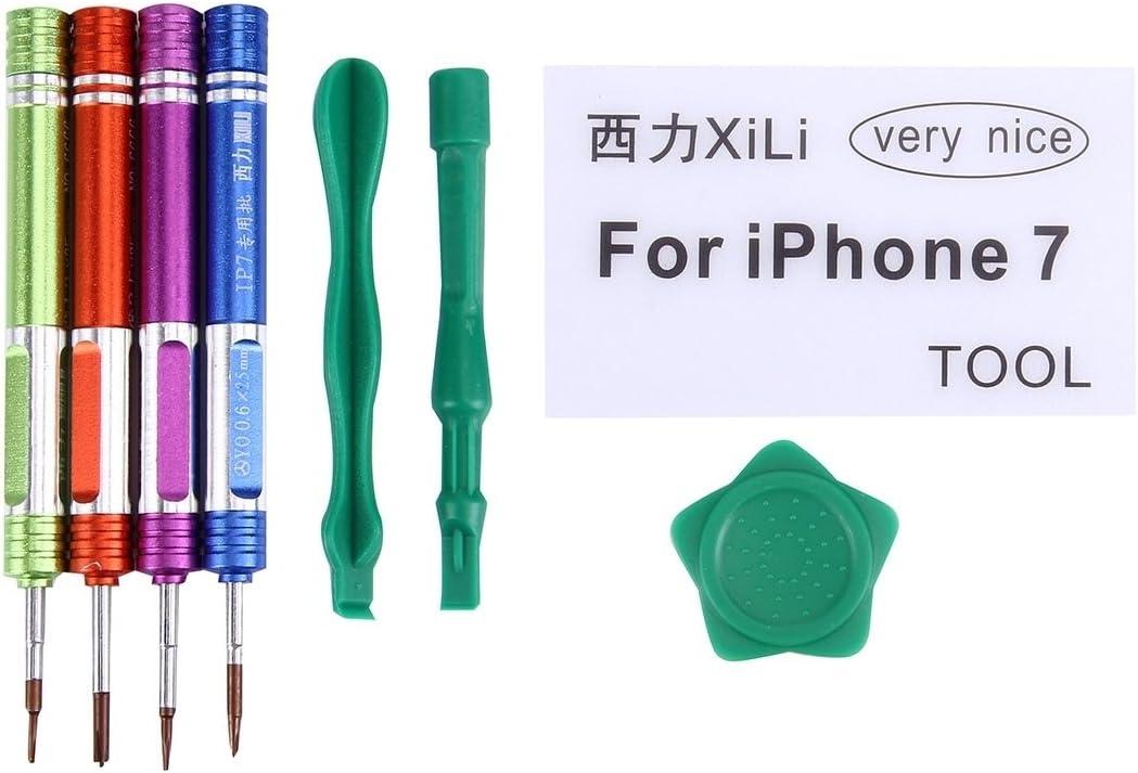 Deluxe Cell Phone Repair Tool Kits Compatible with iPhone 7 /& 7 Plus Appropriative Professional Screwdriver Repair Open Tool Kit Repair Kits