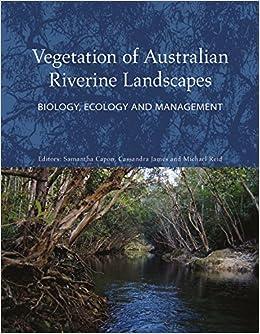 Buy Vegetation of Australian Riverine Landscapes: Biology