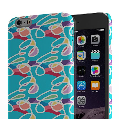 Koveru Back Cover Case for Apple iPhone 6 Plus - Band of Nuts Splot