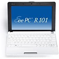 Asus Eee PC R101 25,7 cm (10,1 Zoll) Netbook (Intel Atom N450, 1.6GHz, 1GB RAM, 160GB HDD, Intel GMA 3150, Win XP Home) weiß