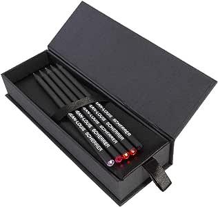 Jean-Louis Scherrer Set of pencils, 5 pieces, Black, SSS128