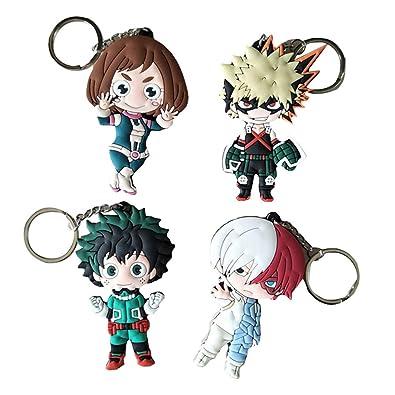 Amazon.com: Llavero de anime WerNerk Boku No Hero Academia ...