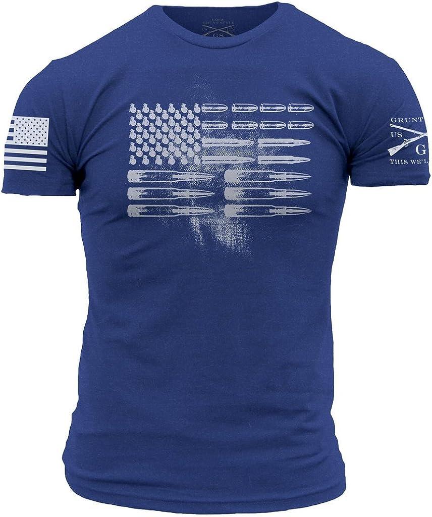 Grunt Style Men's Ammo Flag Short-Sleeve Tee