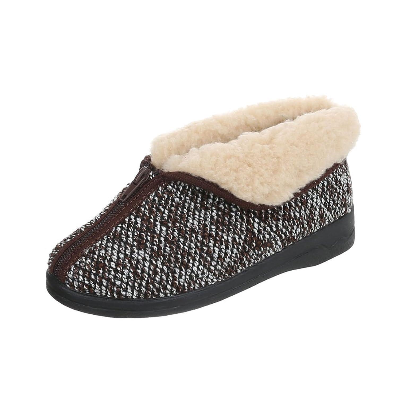 sports shoes ce001 9309f low-cost Chaussures femme Baskets mode Plat Chaussons Pantoufles Ital-Design
