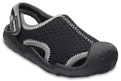 7fd10fc73fdc8 Amazon.com | Crocs Kids' Boys and Girls Swiftwater Sandal | Sandals