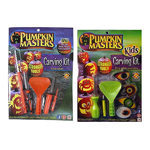 Pumpkin Masters Carving Kits - 2 pc Set