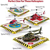 Remote-Control-Helicopter-Landing-Pad-Popular-Christmas-Gift-LED-Lights-Installed-Suitable-for-RC-Helicopters-Quadcopters-Drones-Syma-Helicopters