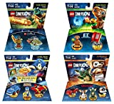 Sonic The Hedgehog Level Pack + Gremlins Team Pack + E.T. +The Legend Of Chima Cragger Fun Packs - Lego Dimensions (Non Machine Specific)