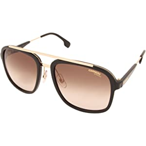 c61e1614db Amazon.com  Carrera 33 S Aviator Sunglasses BLACK  Carrera  Clothing