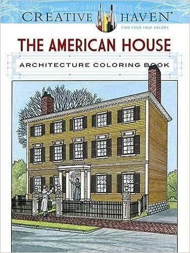Amazon.com: Creative Haven The American House Architecture ...