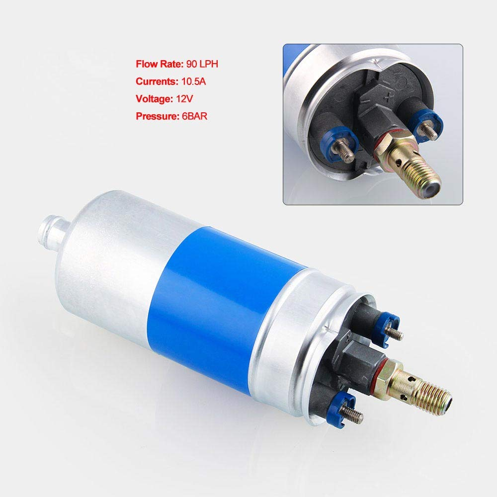 BEESCLOVER Car Modification High-flow Electronic Fuel Pump 0580254910 Gasoline Pump for Ford//Audi//Mercedes