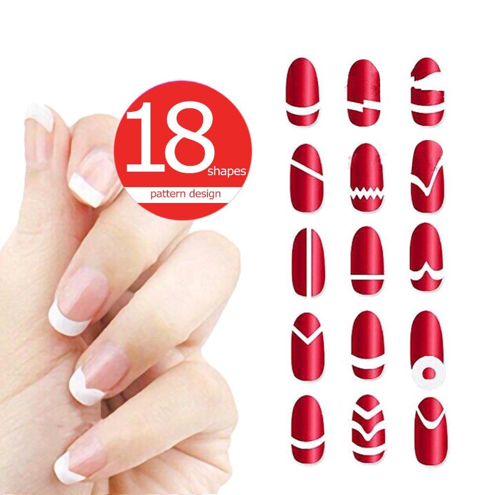 Anself 50 pcs Nagel Kunst Sticker 3D verschidenen Farben Blumenmuster Nail  Art Sticker AufkleberAbziehbilder Manicure Schöne 3798b32de9