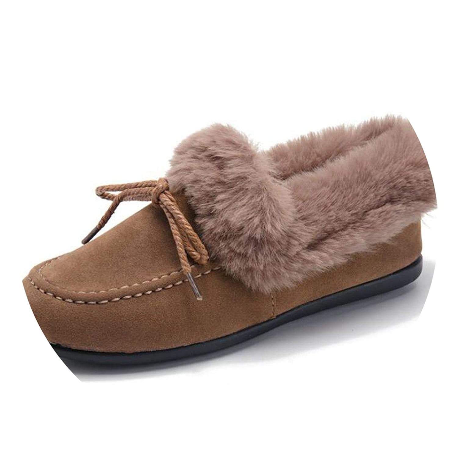 New-Loft ies Shoes Warm Fe Boots Cotton Shoes Bow-Knot lace-up Sweet Snow Boots Boot F855