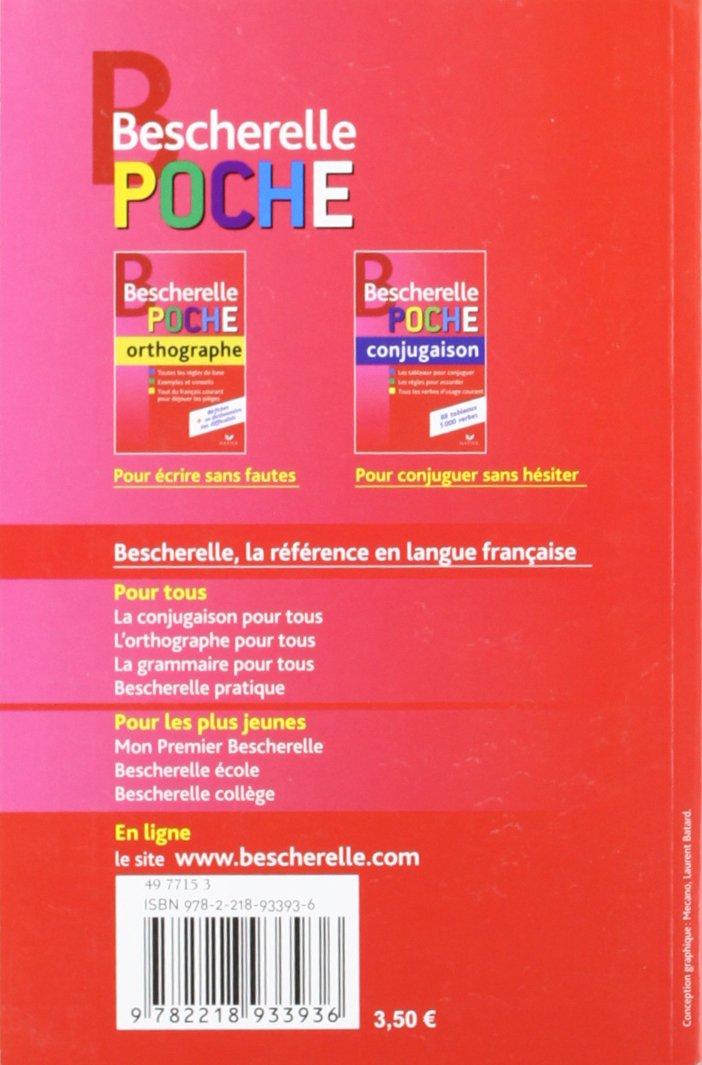 Bescherelle Bescherelle Poche Orthographe 9782218933936 Amazon Com Books
