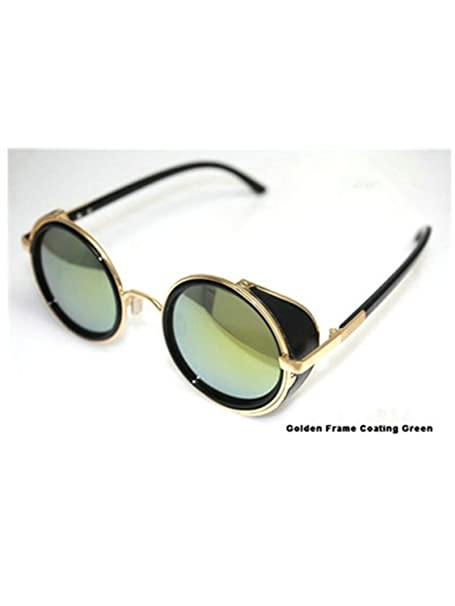 Amazon.com: Adam Woolf Retro Coating Mens Vintage Round ...