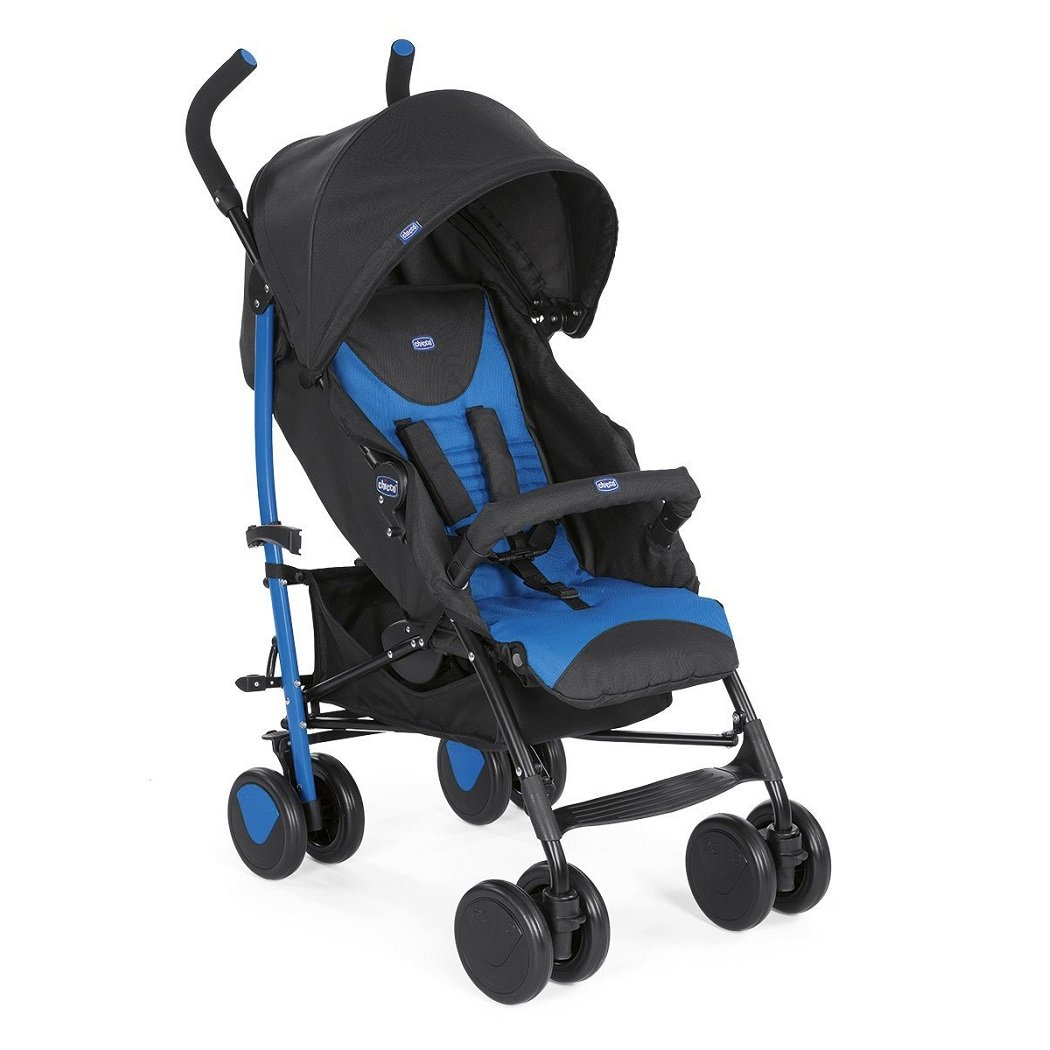 Chicco New Echo Stroller with Bumper Bar, Blue ARTSANA UK LTD 05079431800930