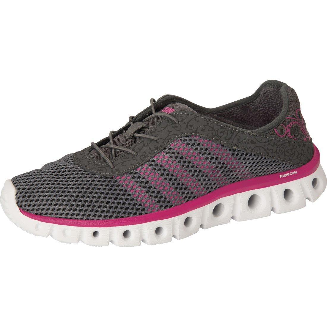 K-Swiss Women's Foam Sneaker_Charcoal/BeetrootPurple_9H,CMFXATHLEISURE