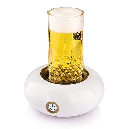 Cerveza hacer espuma, espuma basein eléctrica para cerveza ...