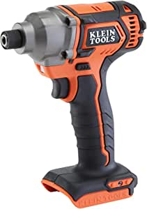 Klein Tools BAT20CD 20V Battery-Operated 1/4-Inch Impact Driver, Compact Design for Excellent Control in Tight Spaces (Tool Only)