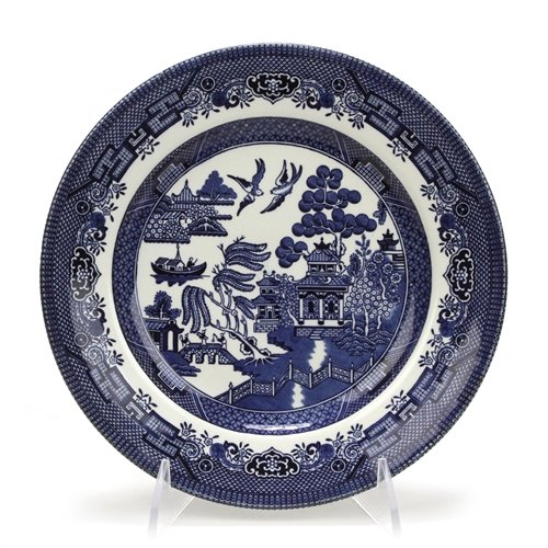 Blue Willow by Churchill, Stoneware Salad Plate ()
