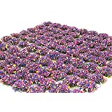 WWS Mixed Flower 6mm Self Adhesive Static Grass Tufts x 100 Wargame & Railway Mixgt6100