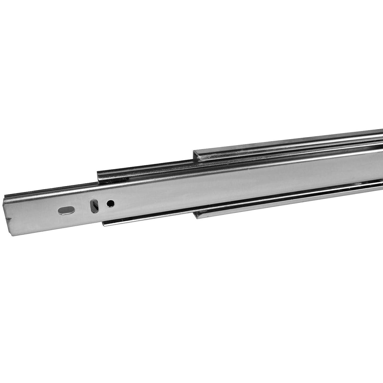 ins/ér/ées 2 PI/ÈCES 1 paire SO-TECH/® Glissi/ères /à Extension Compl/ète Coulisse T/élescopique 700 mm /à Billes Capacit/é de Charge 45 Kg