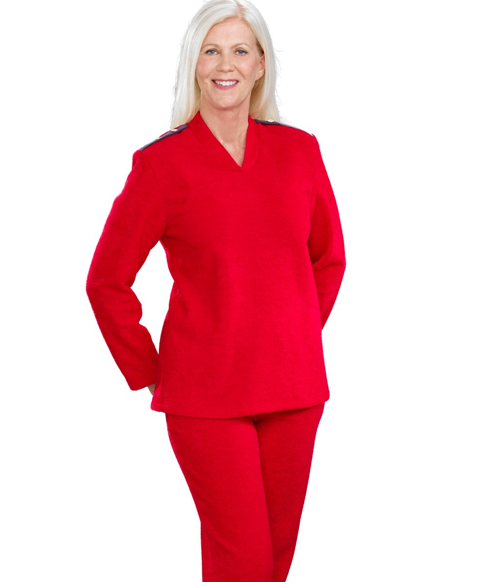 Adaptive Tracksuit For Women - Warm Tracksuit - Disabled Adult Clothing Silvert' s 25250