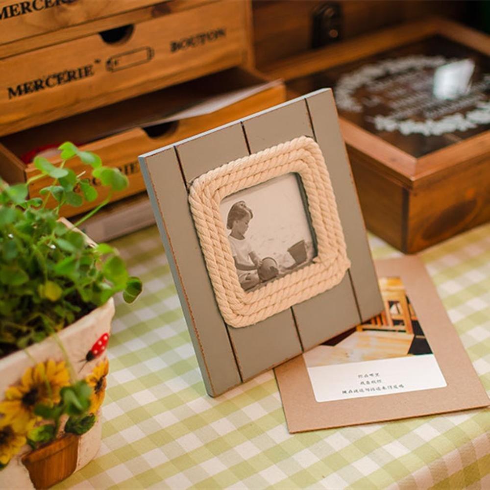 Kaige marco dela foto Retro de marco de foto hacer vieja foto marco accesorios foto marco portaretrato: Amazon.es: Hogar