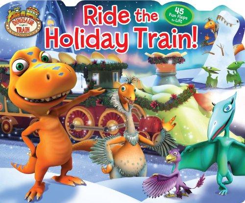 Train Ride Winter - Dinosaur Train Ride the Holiday Train! (Lift-the-Flap)