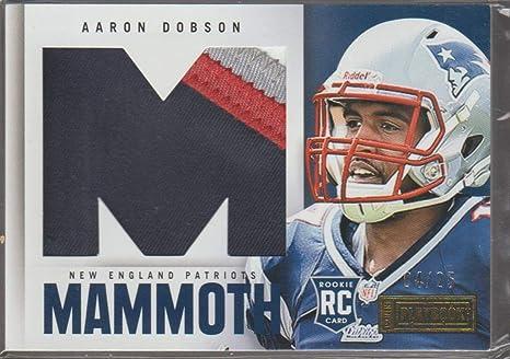Amazon.com: 2013 Playbook Aaron Dobson Patriots 4/25 Rookie Jersey ...