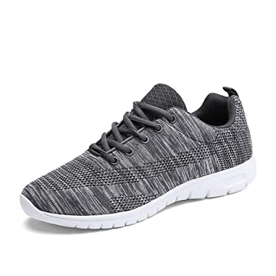 Bequeme Mesh Zicai Sneakers Straßenlaufschuhe Sportschuhe Turnschuhe Knit Ultraleicht Atmungsaktiv Herren Schnüren Laufschuhe Sommerschuhe Freizeit wOX0kNn8ZP