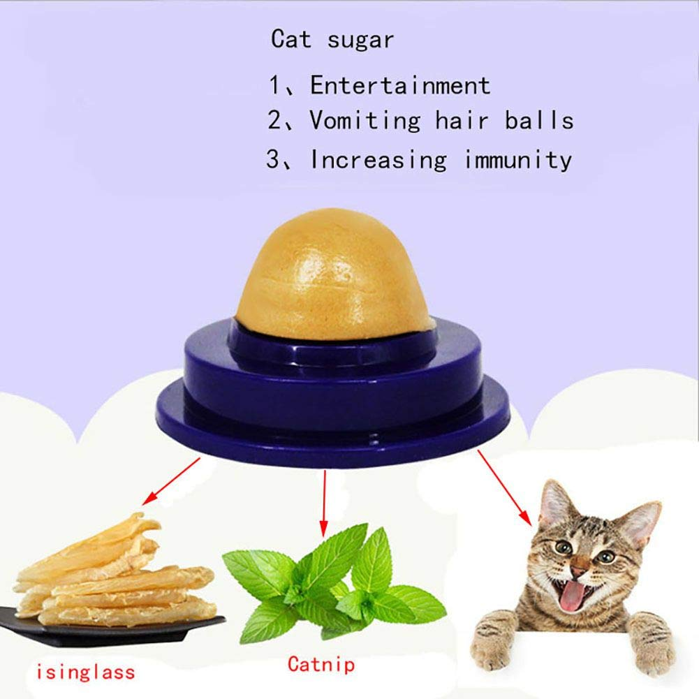 Amazon.com: Ball Cat - Healthy Cat Snacks Catnip Candy Licking Solid Nutrition Gel Energy Ball Increase Drink Help - Valls Jackson Adult Under Pong ...