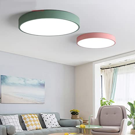 5151buyworld lámpara art deco Round plafoniere a LED ...