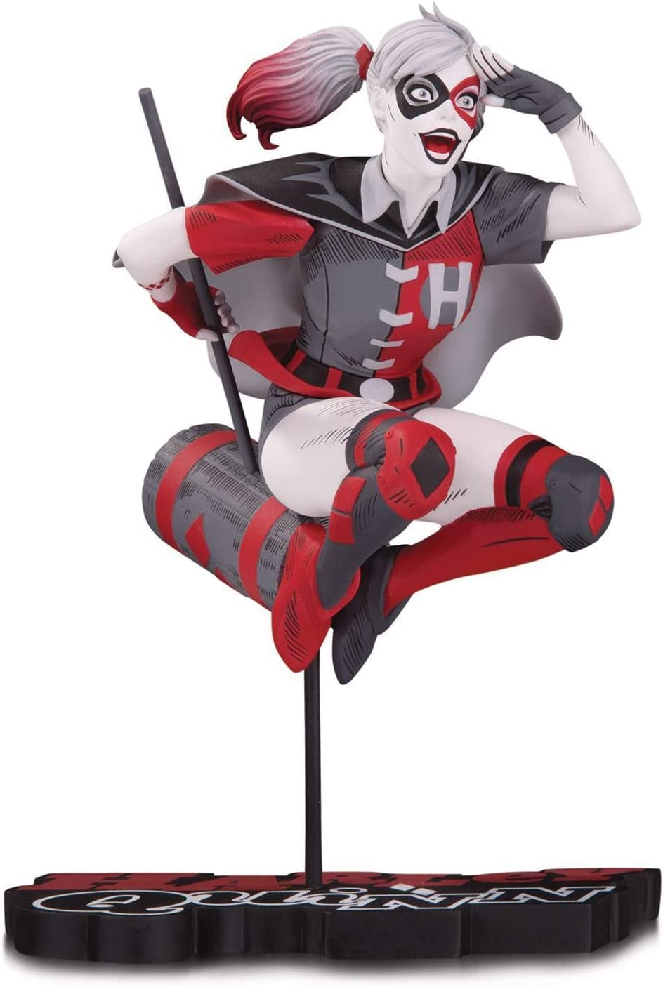 White /& Black Harley Quinn Red Harley Quinn by Guillem March Statue