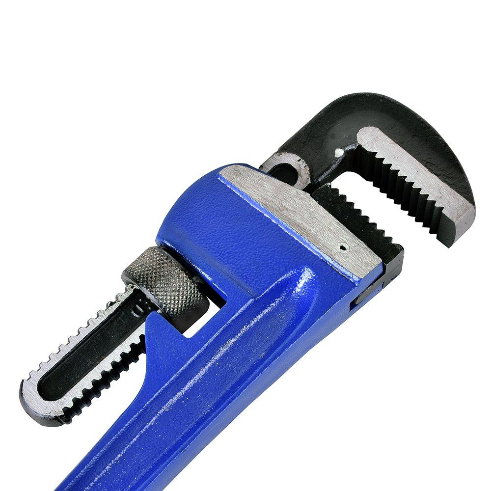12 pulgadas 300 mm Kosma Llave de Tubo Profesional Resistente . Manija Acolchada de PVC Suave Tama/ño