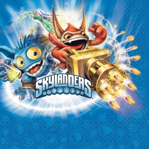 Skylanders Luncheon Napkins - Birthday and Theme Party Supplies - 16 Per Pack by SmileMakers