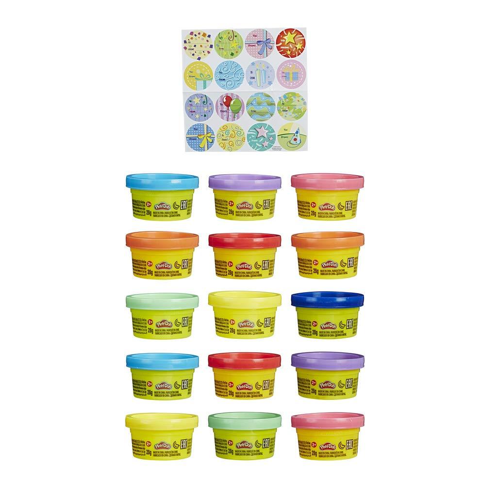 Play-Doh - Bolsa De 15 Mini Botes (Hasbro 18367EU4): Amazon.es: Juguetes y juegos