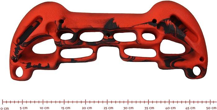 ALPIDEX Tabla de Entrenamiento Escalada Tablero multipresa Training Board 48 cm x 32 cm