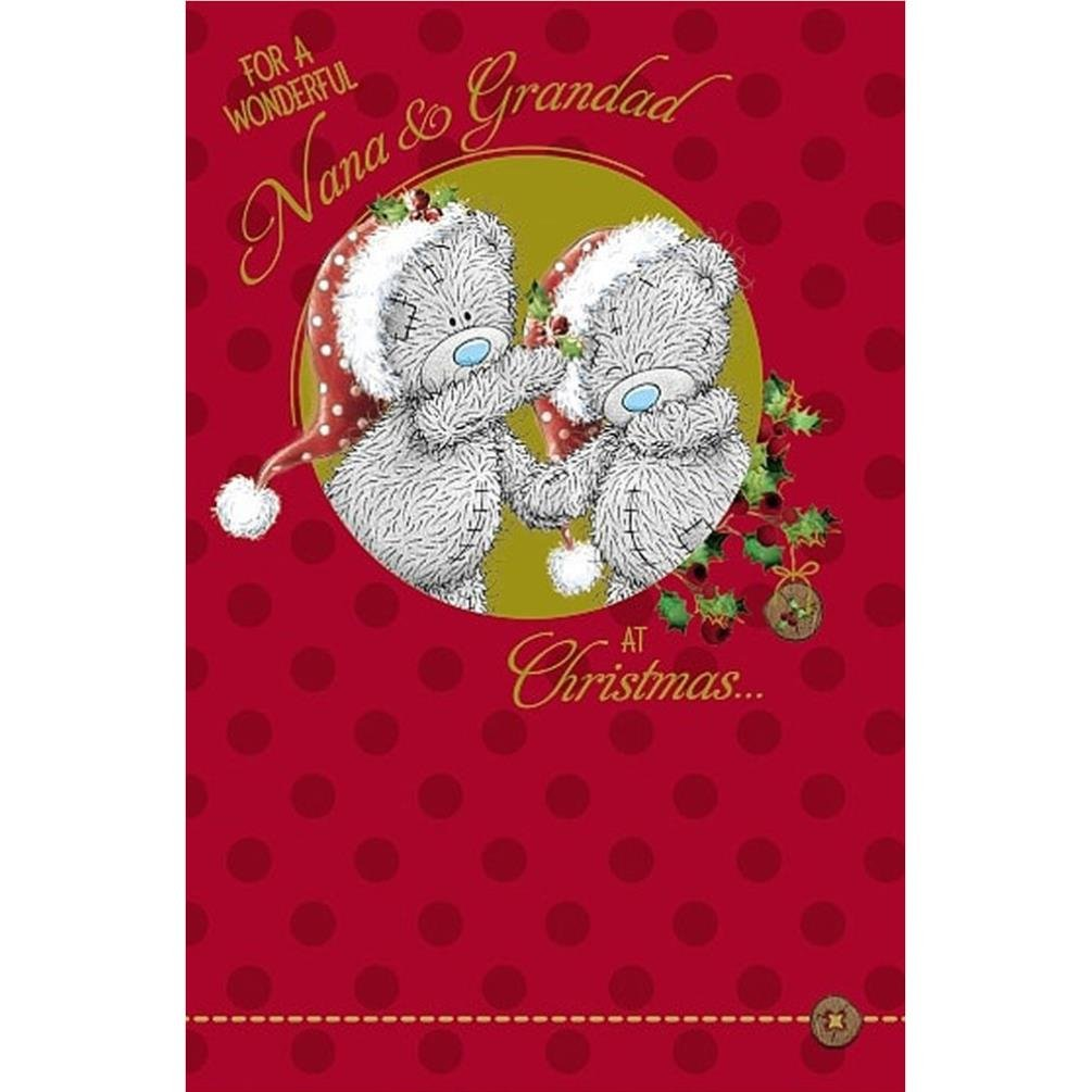 Me to You Tatty Teddy Couple New Christmas Card - Nana and Grandad Shop Inc