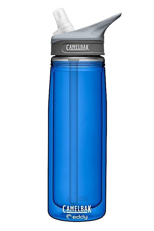 74638cb415 Camelbak Eddy Insulated Water Bottle w/ Bite Valve & Straw - BPA FREE - 20oz