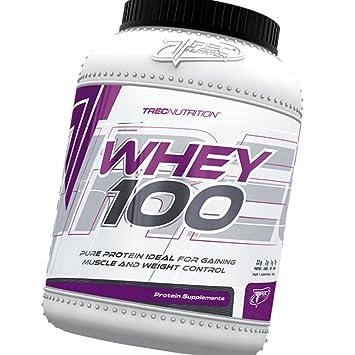 Trec - 100% Whey Protein 600g - 100% de proteína de suero - Slim ...