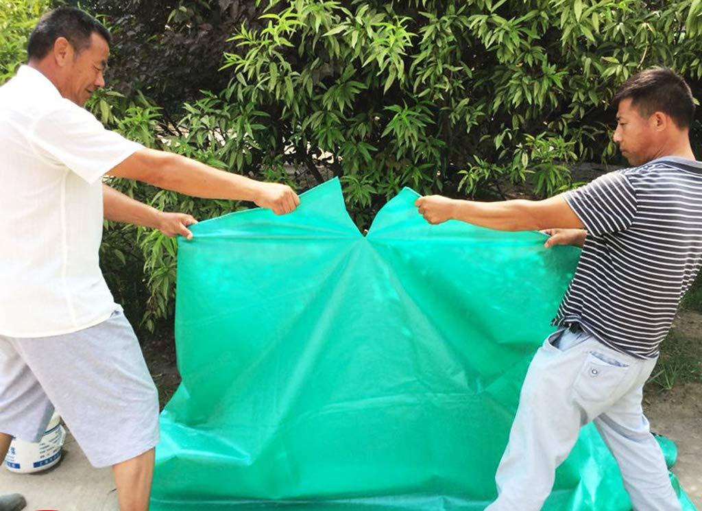 Camping, Gartenarbeit Angeln, Gartenarbeit Camping, und Haustiergrüner wasserdichter Plane-Bodenbelag im Freien Auto- und Veranstaltungsraum, hochwertiges Polyethylen-Material, korrosionsbeständig, reißfest, Anti Aging 42e43e