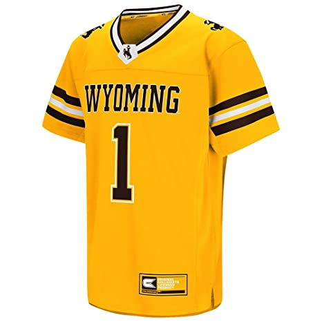 cad2fd714ce Youth NCAA Wyoming Cowboys Football Fashion Jersey (Team Color) - L