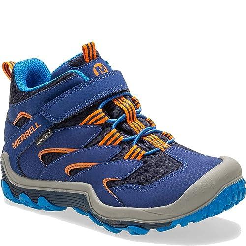 d54e22699bf5b Merrell Boys Chameleon 7 Access Mid a/C WTRPF Hiking Shoe: Amazon.ca ...
