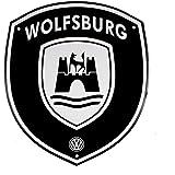 Amazon.com: Volkswagen Wolfsburg Spinner Keychain: Automotive